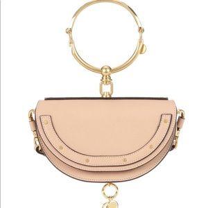 Chloe Half-moon Bracelet Minaudiere Bag